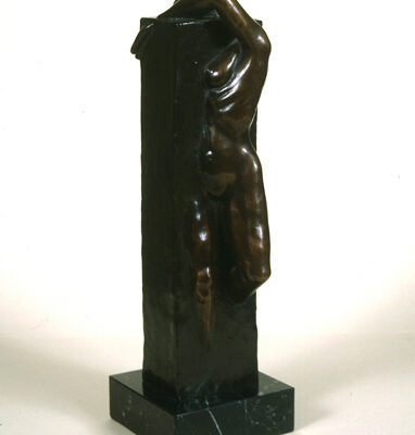 Brian Fetherston, Bronz, 42x14x12 cm.