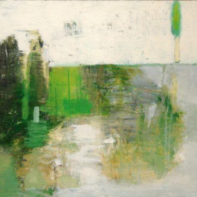 Zurab Gikashvili, 2003, Tuval üzerine yağlıboya, 110x180 cm.