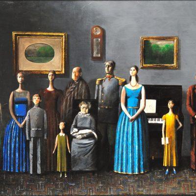 Zurab Gikashvili, 2008, Tuval üzerine yağlıboya, 82x110 cm.