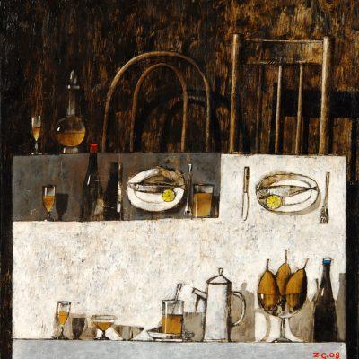 Zurab Gikashvili, 2008, Oil on canvas, 90x85 cm.