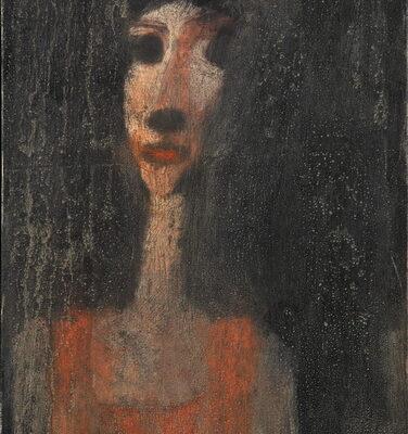 Zurab Gikashvili, 2007, Oil on canvas, 65x34 cm.