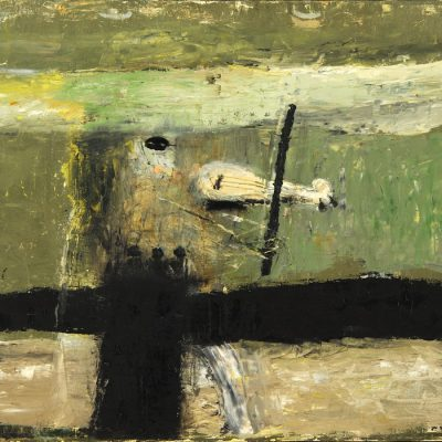 Gia Gugushvili, 2004, Oil on canvas, 85x105 cm.