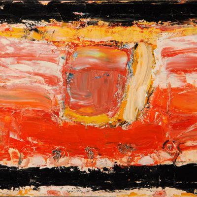 Gia Gugushvili, 2005, Oil on canvas, 55x70 cm.