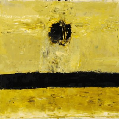 Gia Gugushvili, Abstract in Aspat, 2008, Oil on canvas, 80x120 cm.