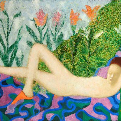 Ucal Hakverdiyev, 2000, Oil on canvas, 98x120 cm.