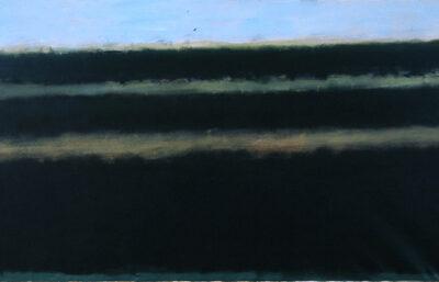 Ferhat Halilov, Oil on canvas, 98x230 cm.