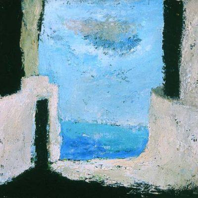 Ferhat Halilov, Oil on canvas, 60x67 cm.