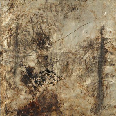 Muhic Hamzalija, Bez Naziva, 2000, Alüminyum, 43x43 cm.