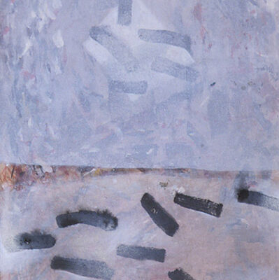 Gerold Hirn, Oil on hardboard, 54x34 cm.
