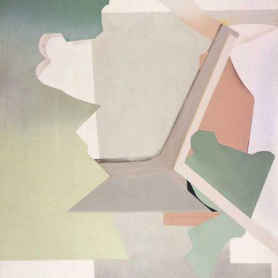Reyhan Kağıtçı, Tuval üzerine yağlıboya, 125x114 cm.