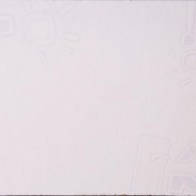 Anto Kajinic, Duralit üzerine yağlıboya, 28x30 cm.