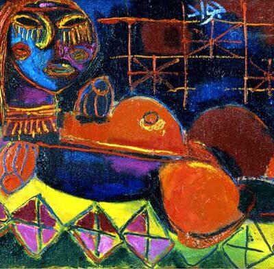 Javad Mirjavadov, 1970, Tuval üzerine yağlıboya, 70x110 cm.