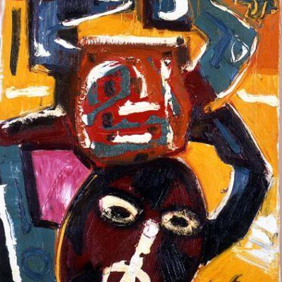 Javad Mirjavadov, 1987, Oil on canvas, 80x60 cm.