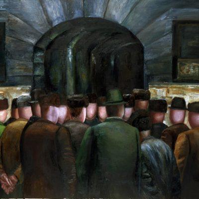 Tatyana Nazarenko, 1991, Oil on canvas, 140x190 cm.