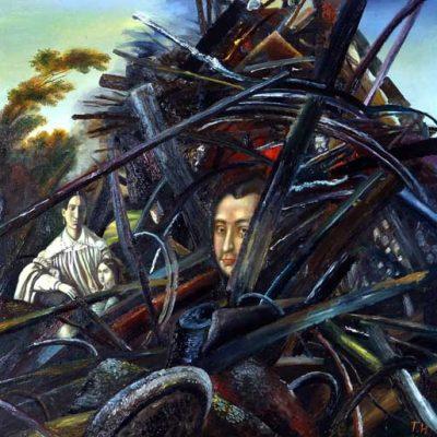 Tatyana Nazarenko, 1991, Oil on canvas, 100x110 cm.