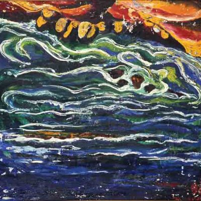 Toğrul Nerimanbeyov, 1992, Tuval üzerine yağlıboya, 75x80 cm.