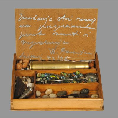 Edin Numankadic, Sarajevo Box 1992-96, Mixed material in wooden box, 23x33x24 cm.