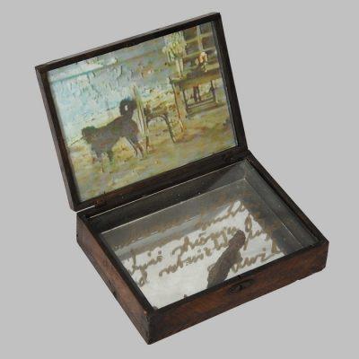 Edin Numankadic, Sarajevo Box 1992-96, Mixed material in wooden box, 21,5x29,5x27,5 cm.