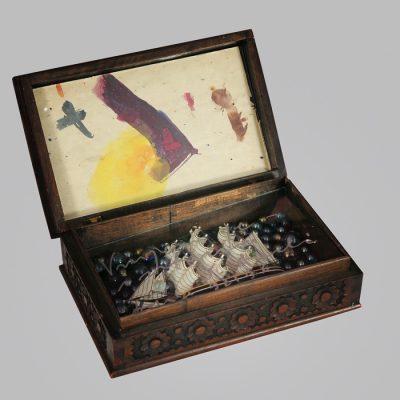 Edin Numankadic, Sarajevo Box 1992-96, Mixed material in wooden box,20,5x31,5x26 cm.