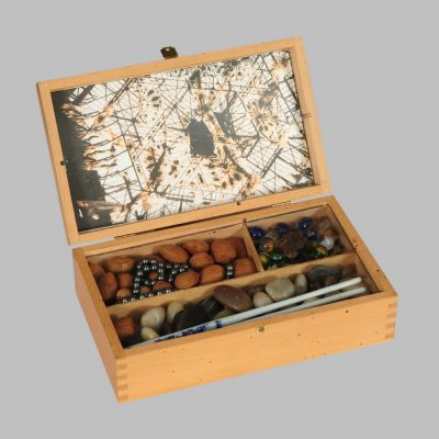 Edin Numankadic, Sarajevo Box 1992-96, Mixed material in wooden box, 16x27x21,5 cm.