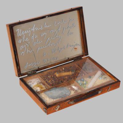 Edin Numankadic, Sarajevo Box 1992-96, Mixed material in wooden box, 25x40,5x30 cm.