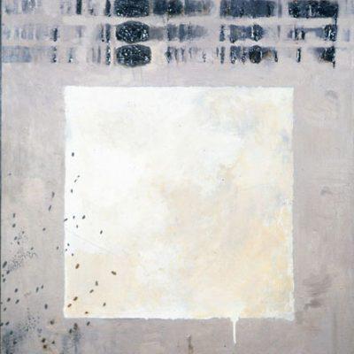 Talant Ogobaev, Mixed media on canvas, 125x100 cm.