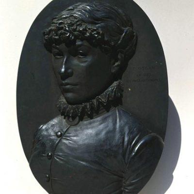 Yervant Oskan, 1885, Bronze, 50x36 cm.