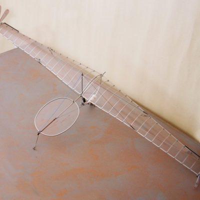 Panamarenko, 1999, Model, 32x118x40 cm.