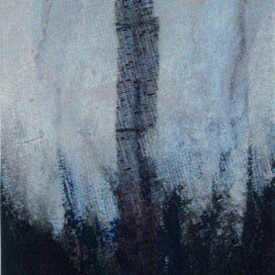 Alfa Pietta, Mixed media on canvas, 30x25 cm.