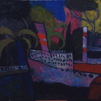 Altay Sadıkzade, Oil on canvas, 80x110 cm.