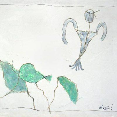 Altay Sadıkzade, 2005, Oil on canvas,55x70 cm.