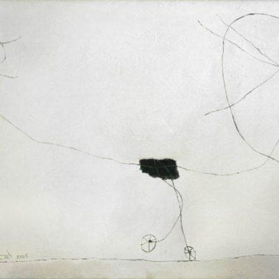 Altay Sadıkzade, Balance, 2005, Tuval üzerine yağlıboya, 118x175 cm.