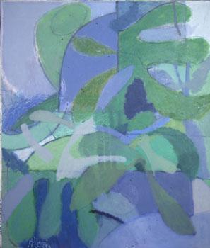 Altay Sadıkzade, 1991, Tuval üzerine yağlıboya, 131x101 cm.