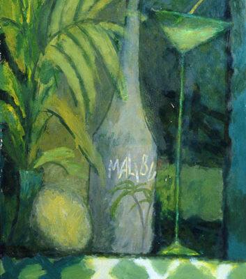 Altay Sadıkzade, Apparatus, 1994, Tuval üzerine yağlıboya, 120x100 cm.