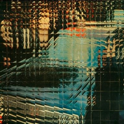 Sarkis, 1966-67, Mixed media and collage on hardboard, 65x100cm.