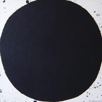 Richard Serra, B. B. King, 1999, Print, 110x110 cm.