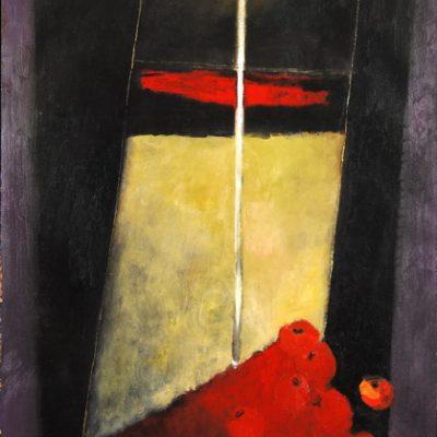 Sabina Shikhlinskaya, Oil on canvas, 190x113 cm.