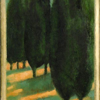 Sabina Shikhlinskaya, Landscape, 2006, Oil on canvas, 107x70 cm.
