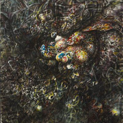 Demis Sinancevic, 2008, Oil on canvas, 100x120 cm.
