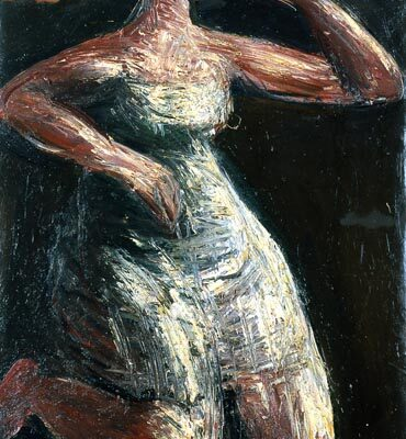 Lev Tabenkin, 1991, Oil on canvas, 120x80 cm.