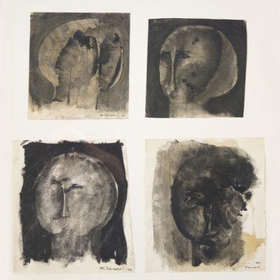 Mehmet Zaimovic, Aquarelle on paper, 62x67 cm.